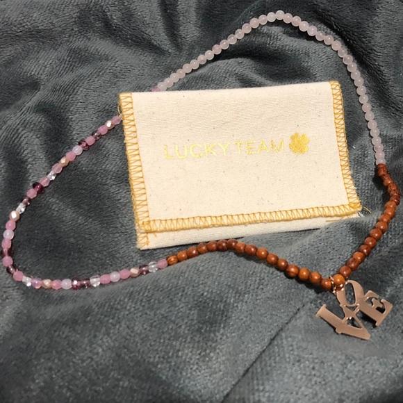b39fe55e8e Jewelry   Lucky Team Paris Love Necklace Bracelet New   Poshmark